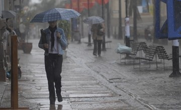 Lluvias. En Montevideo no han sido intensas desde que se emiti� la advertencia.